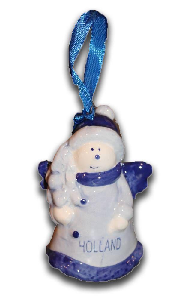 Typisch Hollands Delfts Blauwe Kerst-Engel