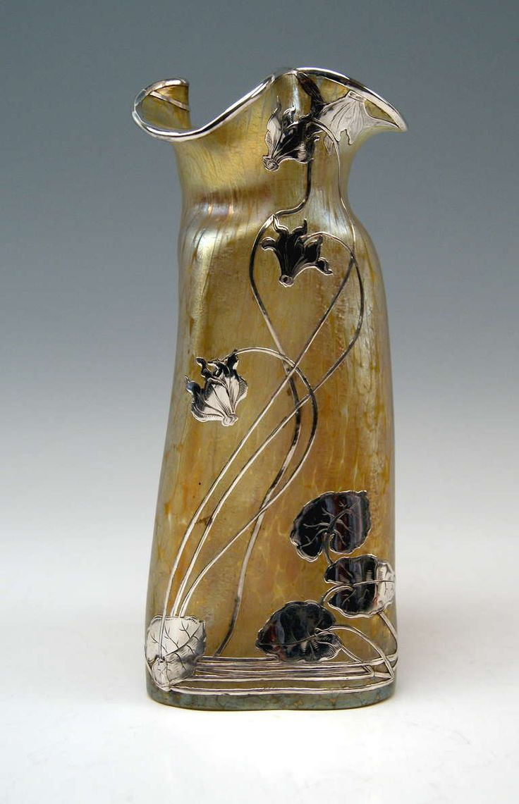Vases  Home Decor : Vase Loetz Widow Klostermuhle Bohemia Art Nouveau  circa 1900 Decor Candia Papill.