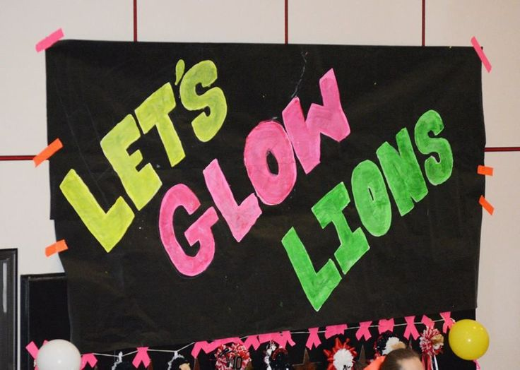 Black Out Pep Rally