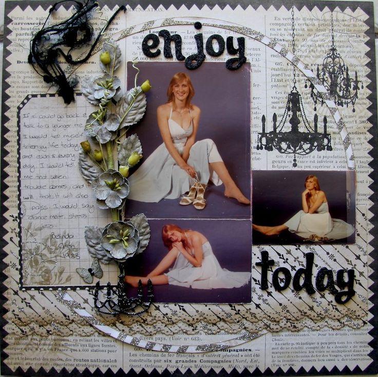 Enjoy+Today - Scrapbook.com