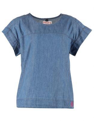 Holmes Bros Womens Denim T-Shirt