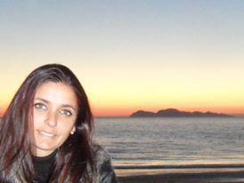 Noelia Collazo nos envió esta fotografía. En ella podemos ver al fondo el mar de la ría de Vigo, con las Illas Cíes a lo lejos.
