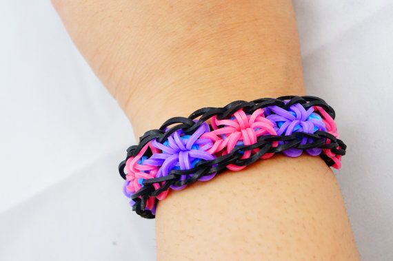 17 best images about rainbow loom rubber band starburst