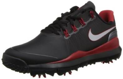 Offering a breathable tongue construction these mens TW '14 golf shoes by Nike feature an internal fit system with dynamic flywire