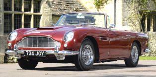 Aston Martin Db5 Volante 1963 65 Classic Aston Martin For Sale In