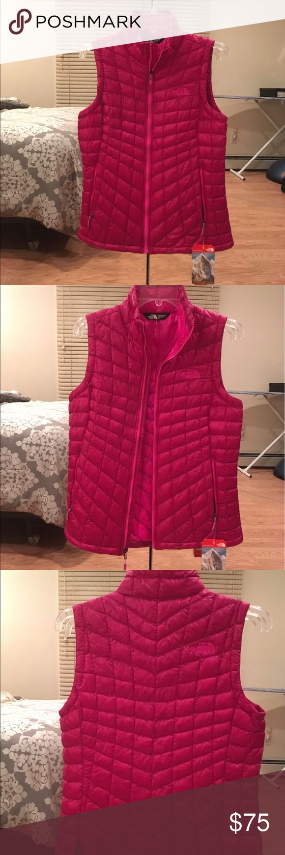 The North Face Women's Thermoball vest The North Face women's thermoball vest. Brand new with tags The North Face Jackets & Coats Vests