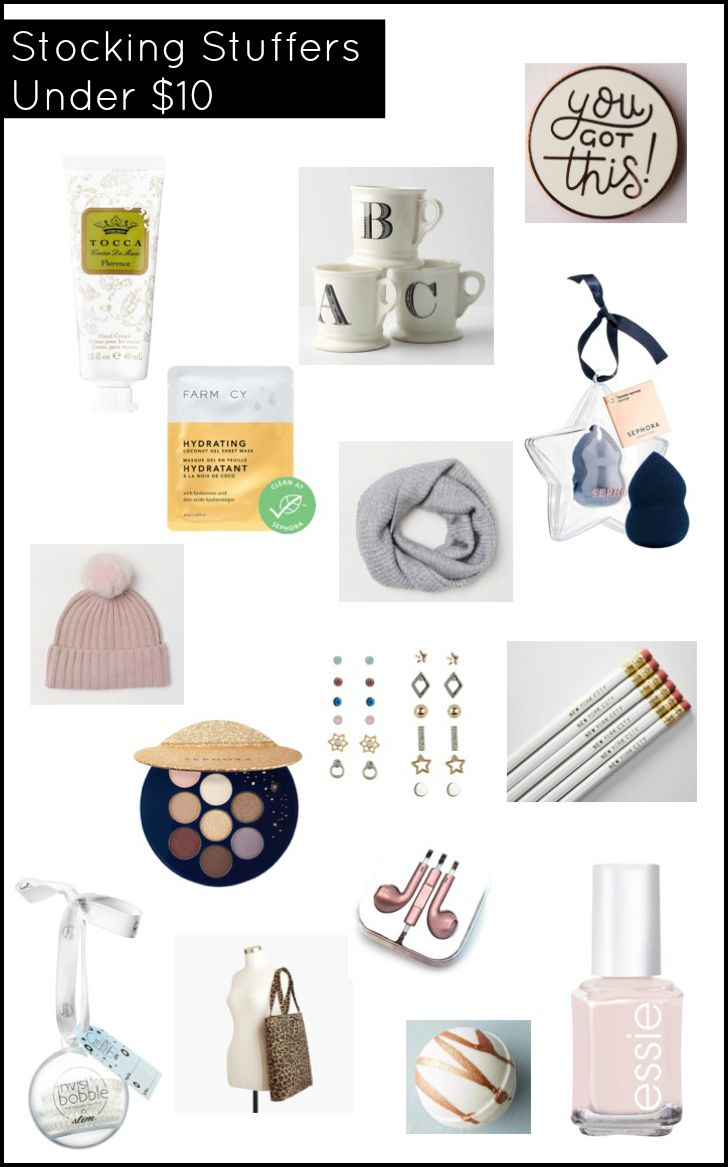 Stocking Stuffers Under $10 | Diy gifts for mom, Stocking ...