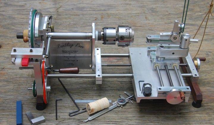 Custom Rambling Rose Engine Amp Ornamental Lathe Home Made