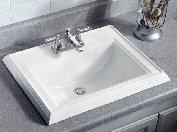 Top Mount Bathroom Sink Ideas