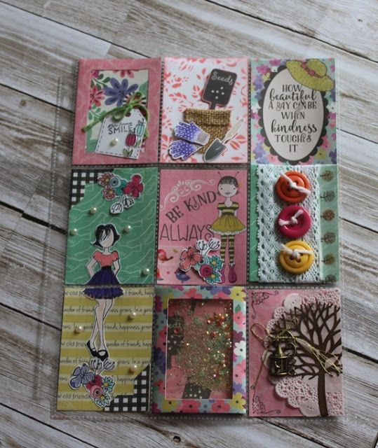 Hello Crafty Friends!   The flowery fun with our June Kit  continues.... today Deb  shares her gorgeous garden inspired pocket letter..........