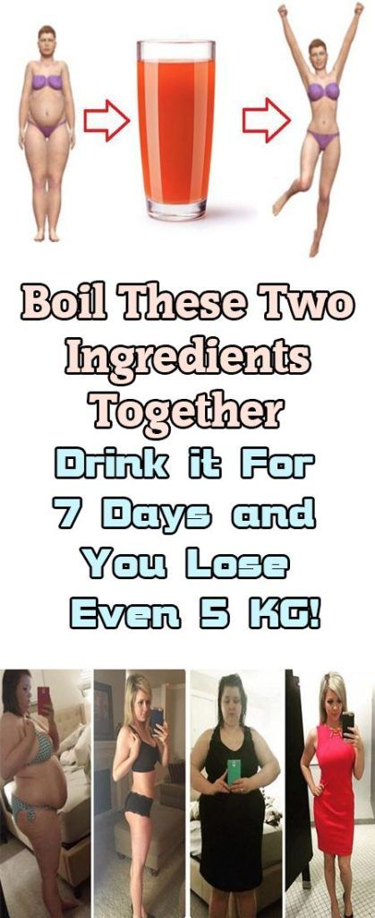 JUST BOIL 2 INGREDIENTS, DRINK EVERY DAY AND LOSE 5 KG IN 7 DAYS (RECIPE