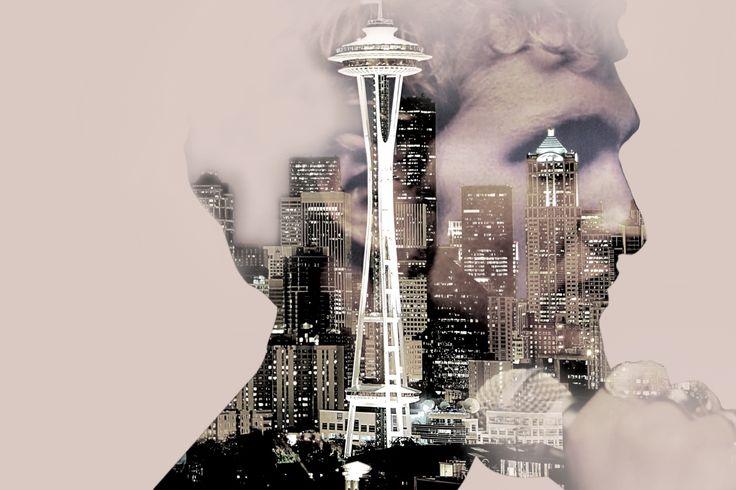 Layne Staley profilo Seattle doppia esposizione