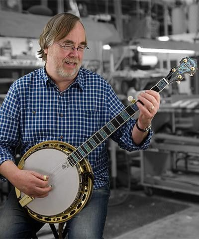 Deering Tony Trischka Golden Clipper 5-String Banjo