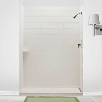 American Standard Shower Surround Subway Tile Solid