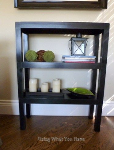 Tutorial for repairing and painting a plastic shelving unit