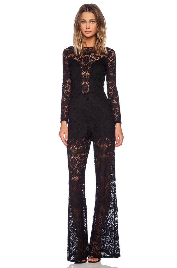 #REVOLVEclothing ASTI LONG SLEEVE JUMPSUIT Alexis