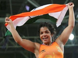 Happy Rakshabandhan Sister. Need more women like Sakshi Malik.. Strong enough to defend herself and strong enough to fight again