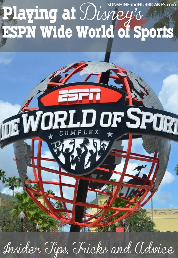 Looking for TIPS, TRICKS, & ADVICE about how to navigate the youth sports scene at Walt Disney World's ESPN area? Read this advice from an experienced team mom, Florida resident, and seasoned visitor to this sports complex. Playing at Disney's ESPN Wide World of Sports
