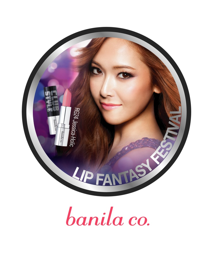 Girls' Generation member Jessica with Banila.co