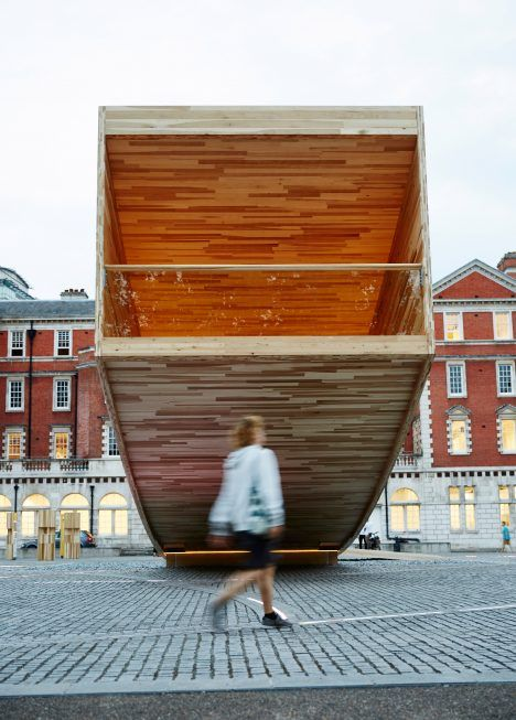 Architect Alison Brooks has pushed the limits of cross-laminated timber with The…