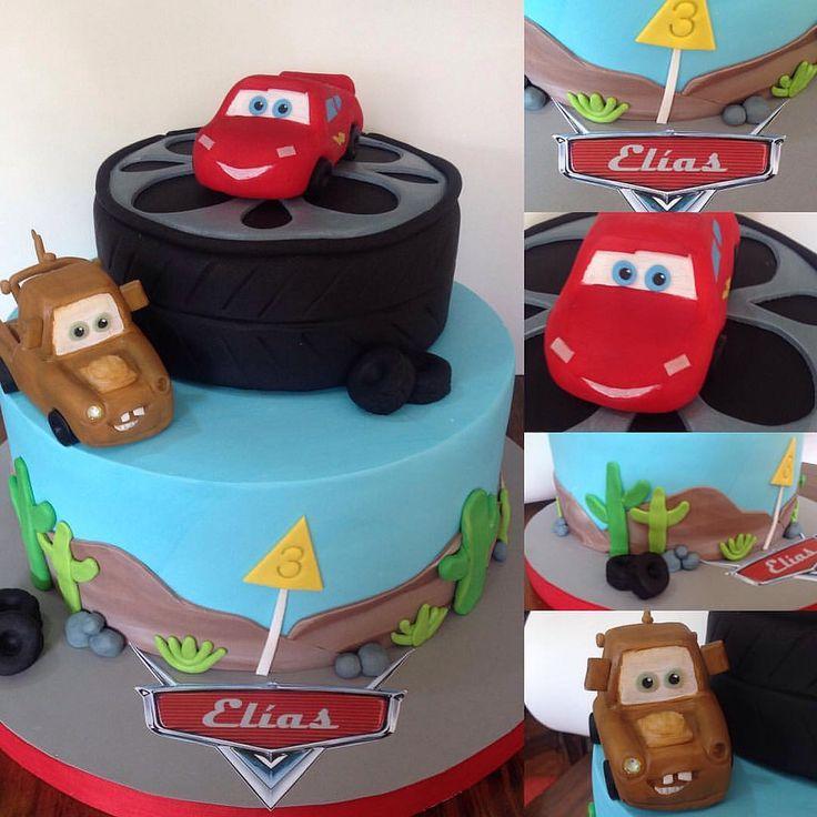#cars #rayomcqueen #mate #felizcumple #instacake #birthaycake #cumpleañoscars #carscake #lacerezadelpostre
