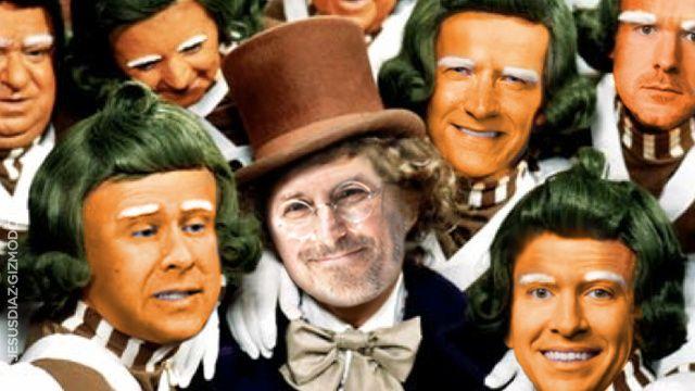 Excerto de novo livro sobre a Apple (citado pelo Gizmodo) afirma que Steve Jobs queria ser Willy Wonka por um dia. Só que a sério.