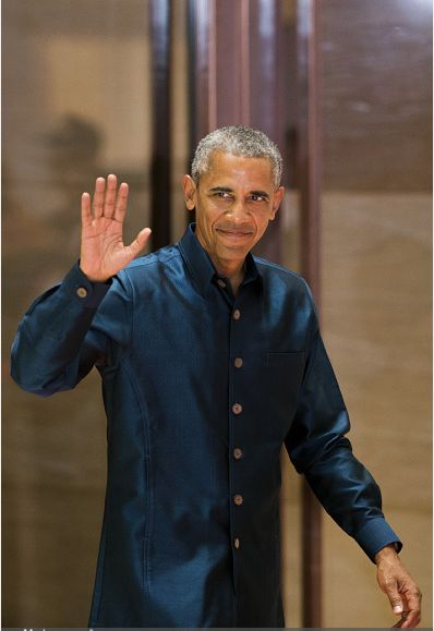 President Barack Obama tours the Cooperative Orthotic and Prosthetic Enterprise (COPE) visitor center in Vientiane, Laos **** **** **** President Barack Obama arriving in Luang Prabang President Ba…