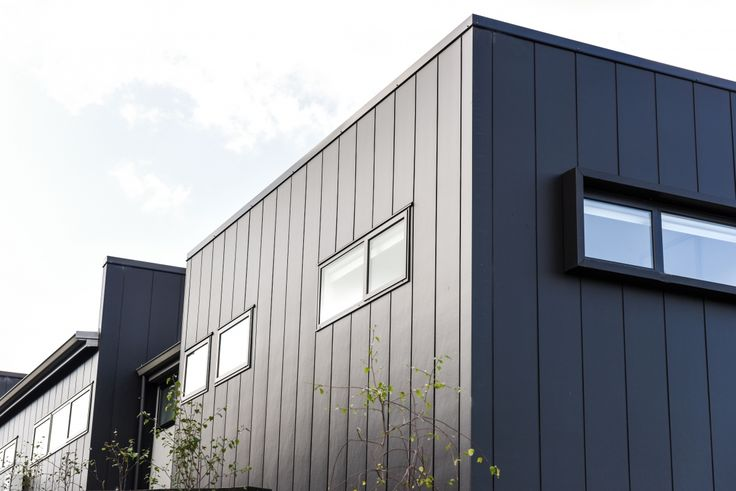 Large Format Exterior Cladding Products : Stria cladding is a wide panel product with mm