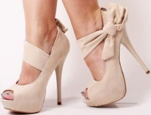 High, high  heels!: Fashion, Bows Heels, Style, Stilettos Heels, Nudes Shoes, Nudes Heels, Pumps, High Heels, Stones