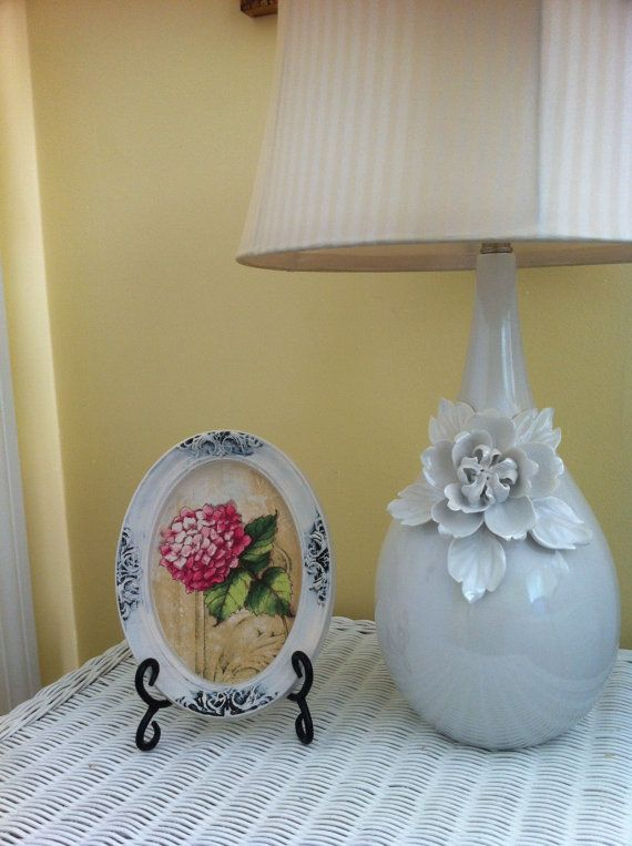 Vintage flower wall hanging decor by GraceDecorations on Etsy, $20.00