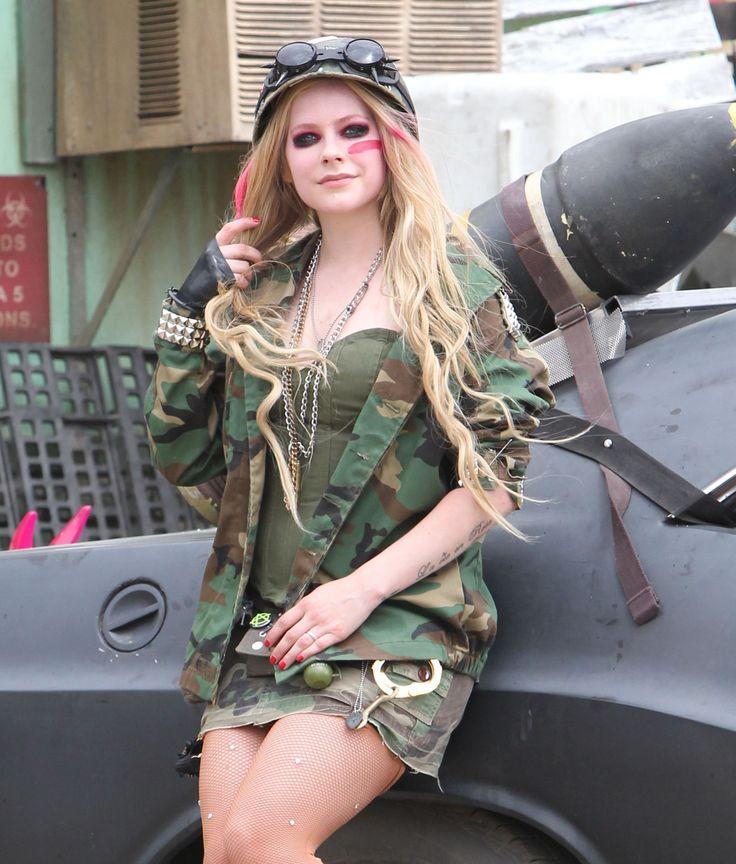 "avril lavigne rock n roll | Rock N Roll"" lyric video | Avril Lavigne Rock Fan Site | Avril-Rock ..."