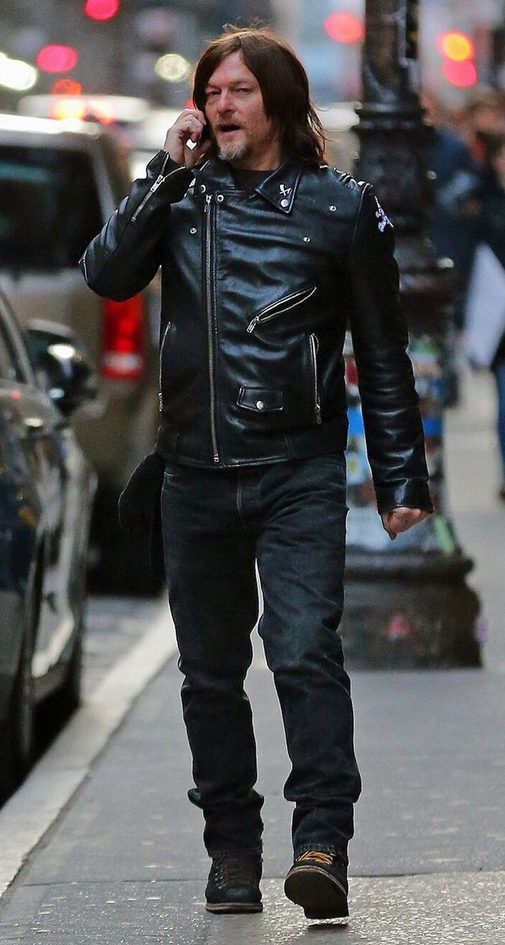 Norman Reedus is seen in Soho on January 20 2018 in New ...