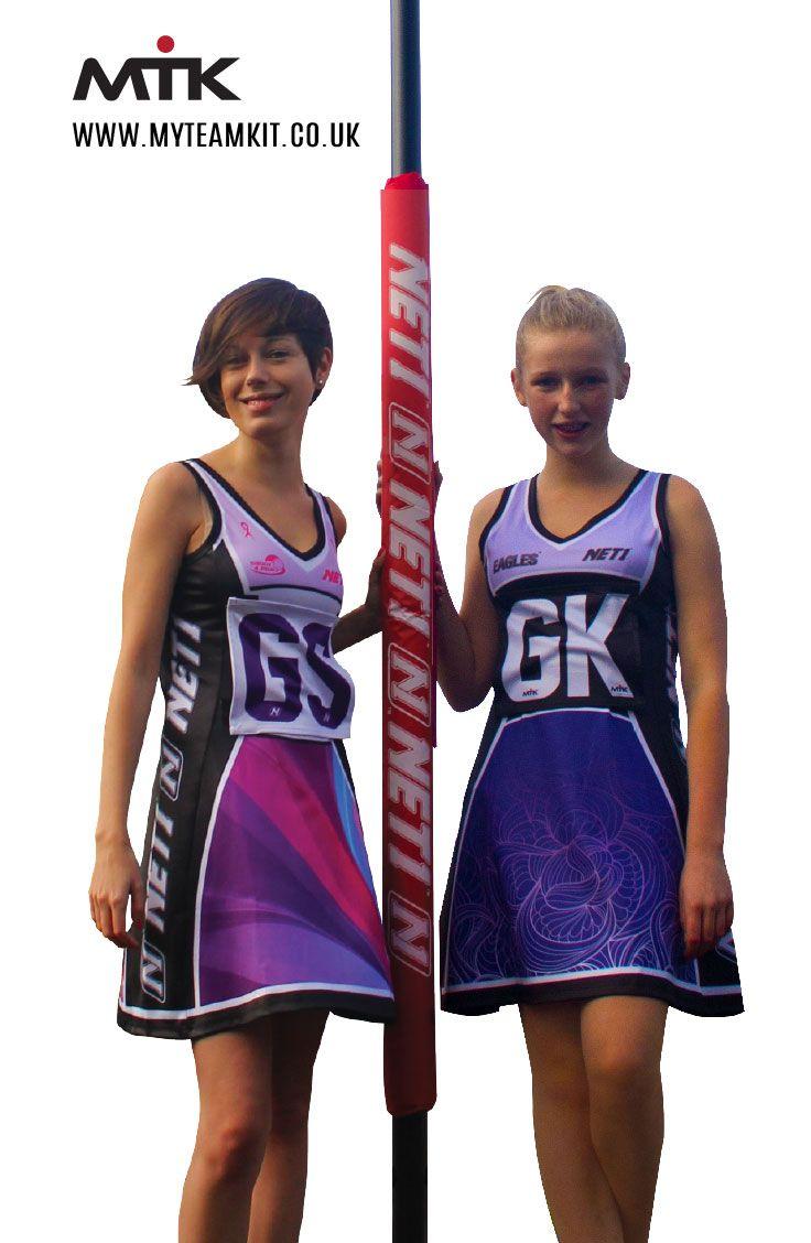 Custom A-Line Netball Dress, Designed & Manufactured By My Team Kit. www.myteamkit.co.uk