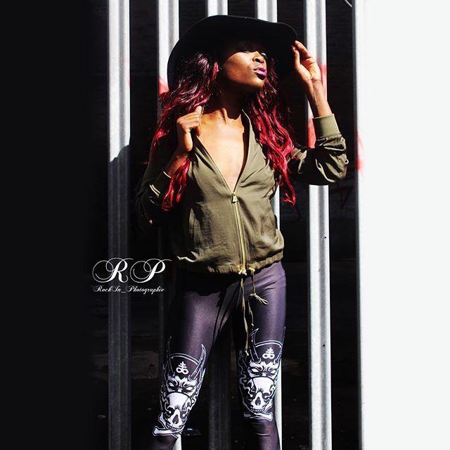 "CRMC X @lzhra ""Satan's Waitin'"" Leggings Available at www.crmcclothing.co | WE SHIP WORLDWIDE Model - Davina Miller Photography - Rockin Photographie #vixen #leggings #loveleggings #alternative #blackmetal #fashionstatement #stunning #lit #leggingsfordays #womenswear #blackwear #satanswaitin #blackmodel #blackgirlsrock #beautifulblackwomen #cute #beautiful #dailyfashion #styles #style #wearblack #legging #legs #altmodel #booty #love"