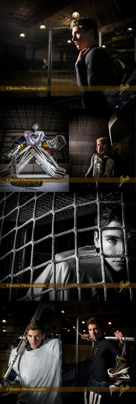 You've put in the work & built the skills - now capture the glory in your high school senior pictures. Arrange for your professional photographer to come to the rink for amazing hockey pictures.