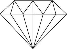 Resultado de imagem para diamante desenho