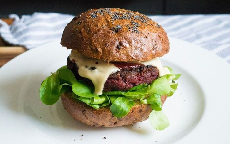 Try this meaty protein packed vegan beetroot burger for the times when only a burger will do.