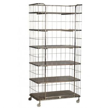 Industrial Caged Bookcase - CDI - Available at Warehouse 74