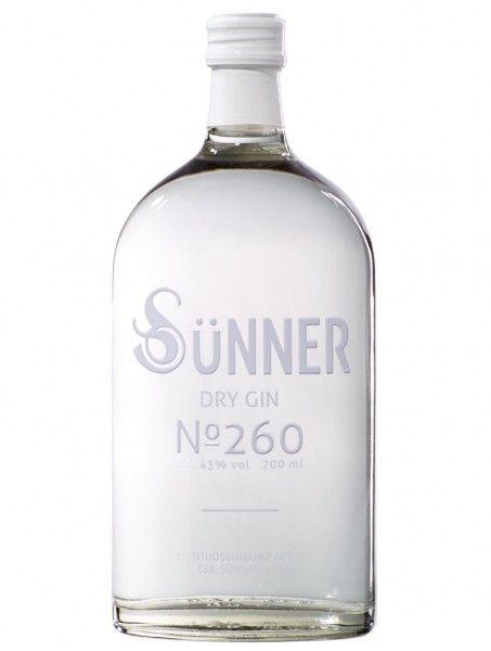 SÜNNER Dry Gin No 260