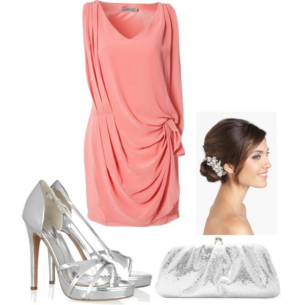 """""""Spring Wedding Guest."""" by yourelateforteaa on Polyvore"""