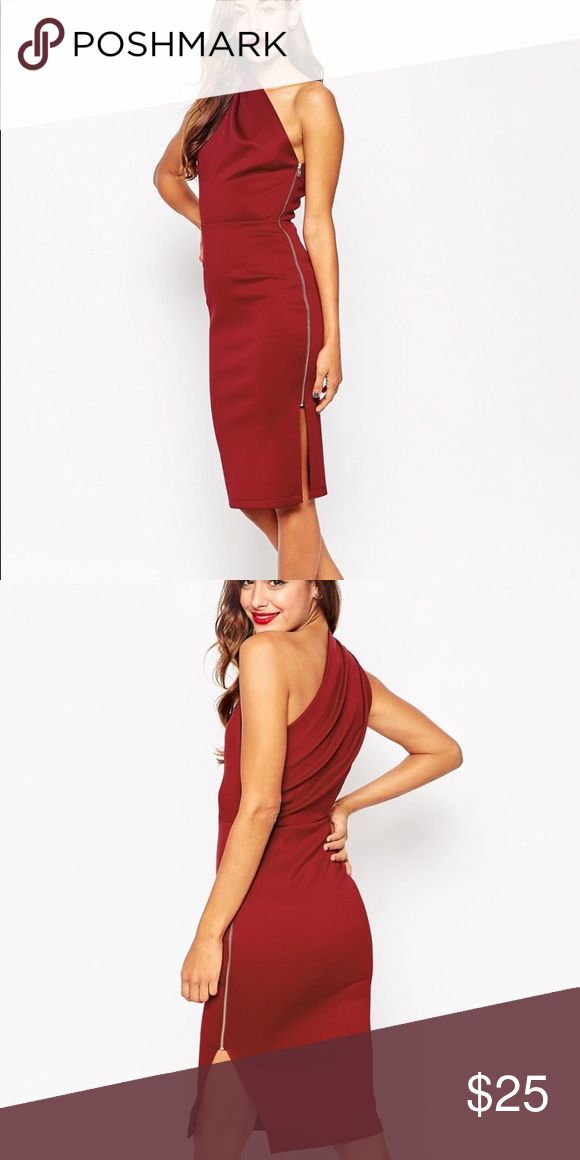ASOS cocktail dress New with tags, slimming cocktail dress, out of stock on ASOS! ASOS Dresses Midi