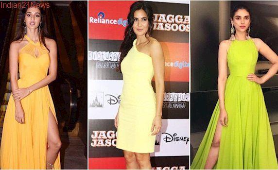 Katrina Kaif, Disha Patani, Aditi Rao Hydari: Bollywood celebs and their latest love for bright, cheery colours