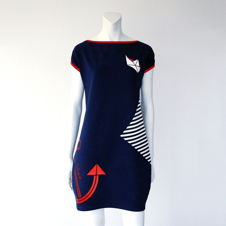 Smart dress NAUTICAL | Šlupik.cz