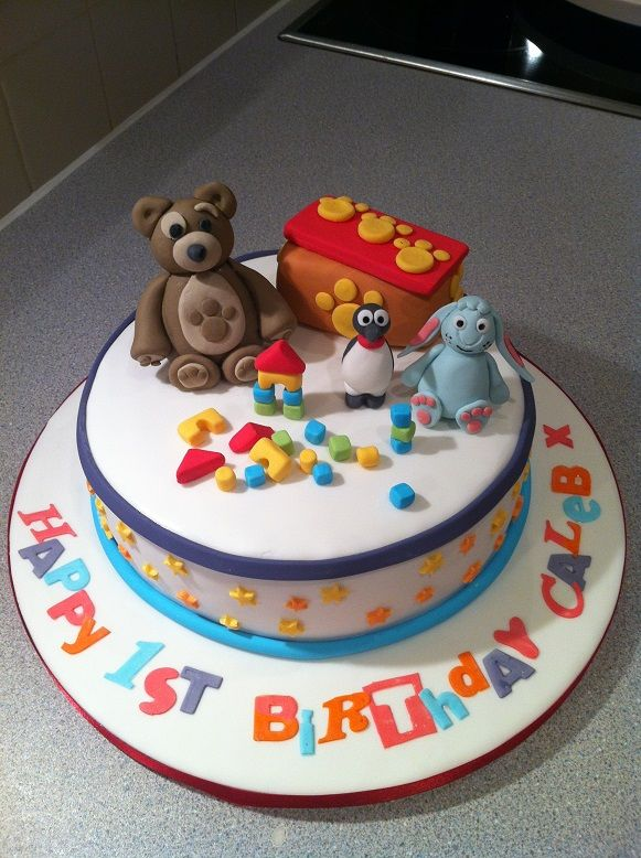 16 best images about little charley bear party on pinterest for Abc cake decoration