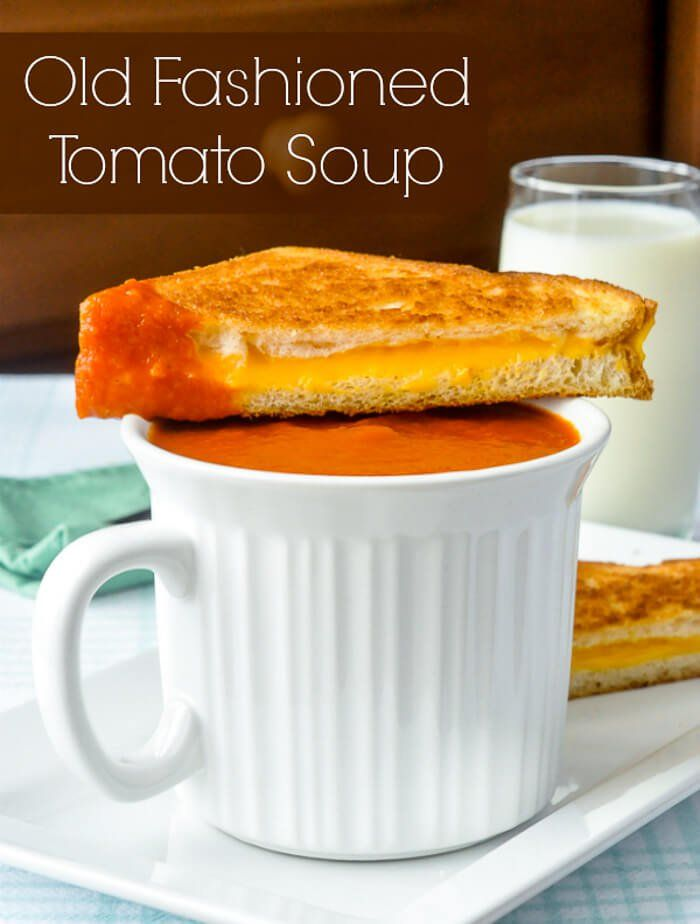 Homemade Tomato Soup image with title text