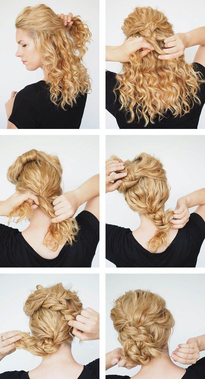 beautiful hairstyles on curls (50 photos) – styling on