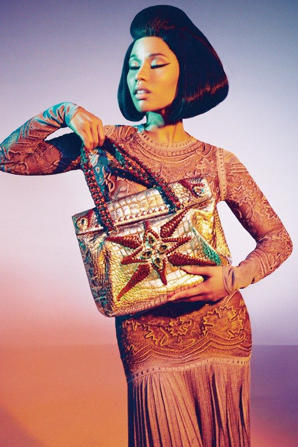 Nicki Minaj by Francesco Carrozzini for Roberto Cavalli Spring:Summer 2015 8