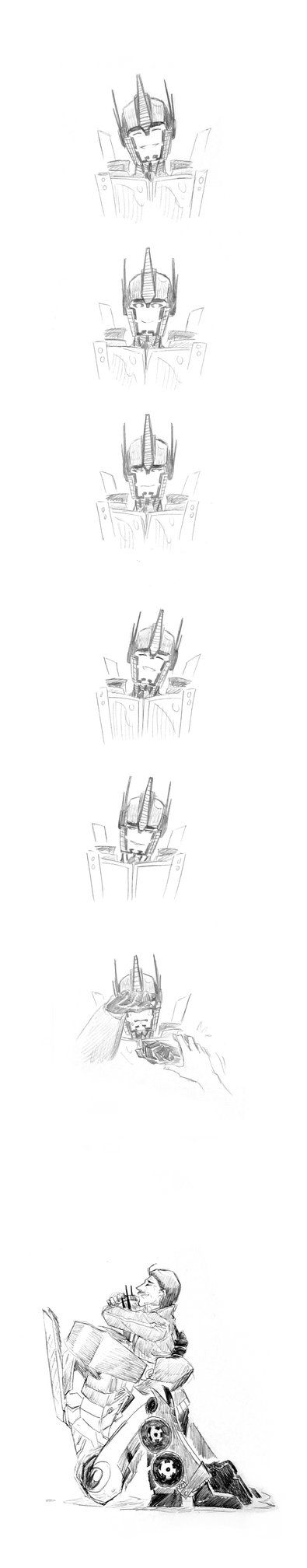 Let it out Optimus it ok papa peter here