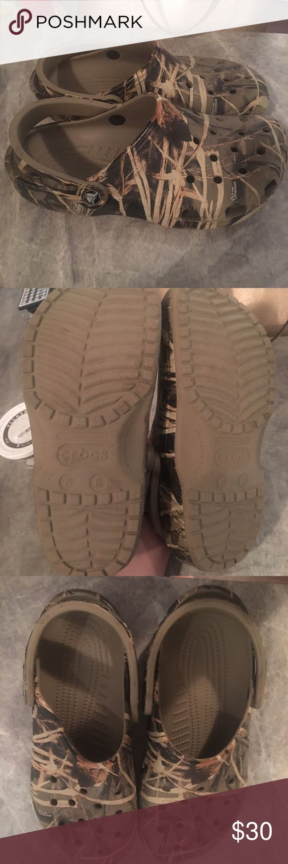 camp crocs gently worn , just two big for me CROCS Shoes Moccasins