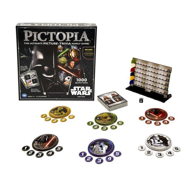 Pictopia Star Wars Picture Trivia Game, Multicolor